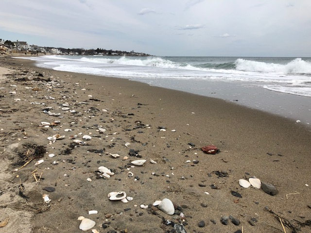 Wallis Sands Beach Rye NH April 2018