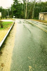 River Road Rain Penacook NH