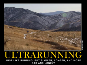 Ultra Running Motivation