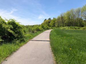 Bike Path by I-89