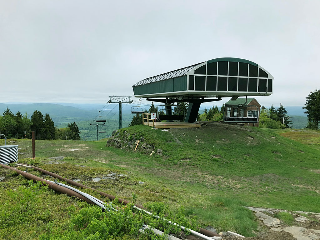 Ragged Mountain Ski Area May 2018
