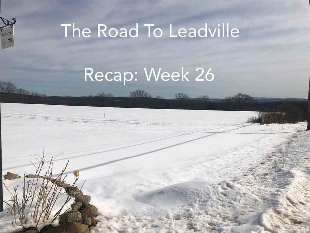 Training for Leadville